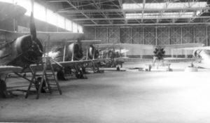 74 Sqn hangar Hornchurch