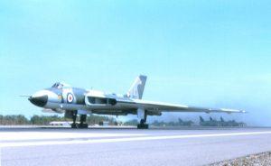 DJJ15 Vulcan takeoff at DarwinSE