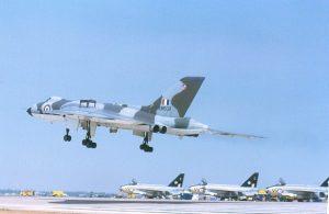 DJJ16 Vulcan landing at Darwin