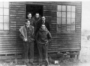 Summer 1940. Back Row Freeborn, Draper,Franklin. Front Row Munggo Park, Peter St. John