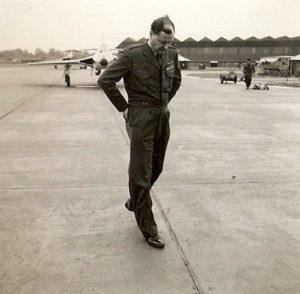 64 Wg Cdr John Hill Wingco Flying.