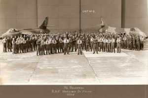 74 Squadron, RAF Horsham St. Faith 1958
