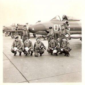 75 Belgian Air Force Pilots