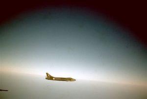 Boz Hunter in flight