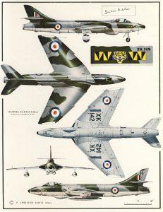 Hunter F.6. Profile publications 1959.