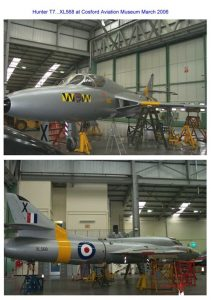 T7 XL568 Rebuild at Cosford.