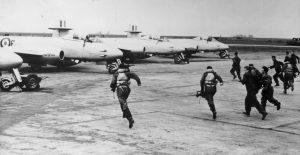 May 1951. A Flight scramble