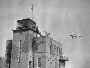 May 1951. Flt Lt Edmonds B Flight beats up H st F tower