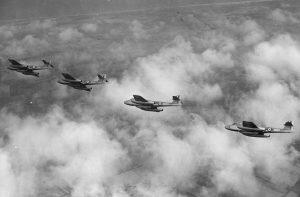 Meteor F Mk 8s May 1951