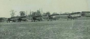 74 Squadron SE5As lined up at Clairmarais